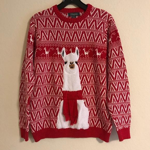 33 Degrees Sweaters Ugly Christmas Llama Sweater Unisex Poshmark